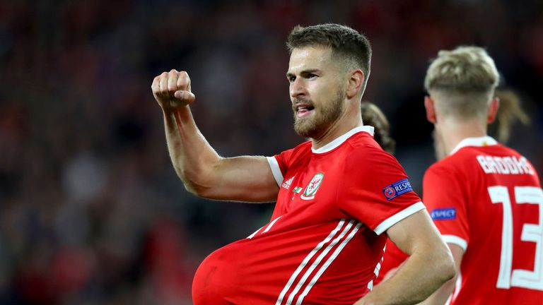Aaron Ramsey will miss Wales' game against Republic of Ireland on Tuesday