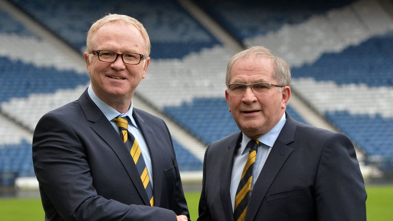 Alan McRae, Scottish FA president, said turning down a move to Murrayfield was 'a very difficult decision'