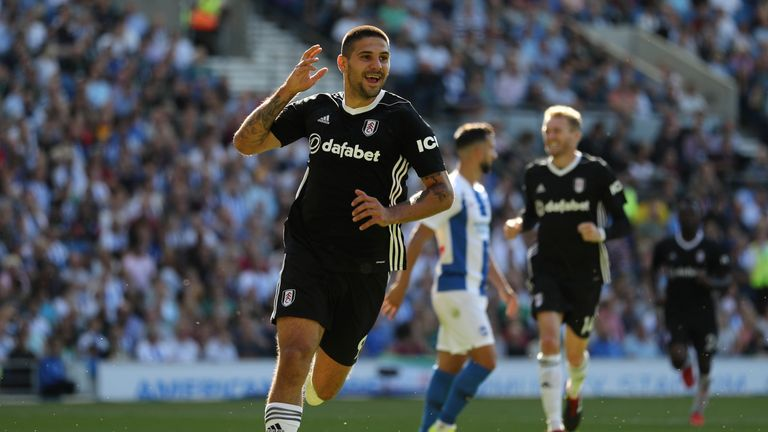 Aleksandar Mitrovic is the Premier League's joint top scorer after four matches