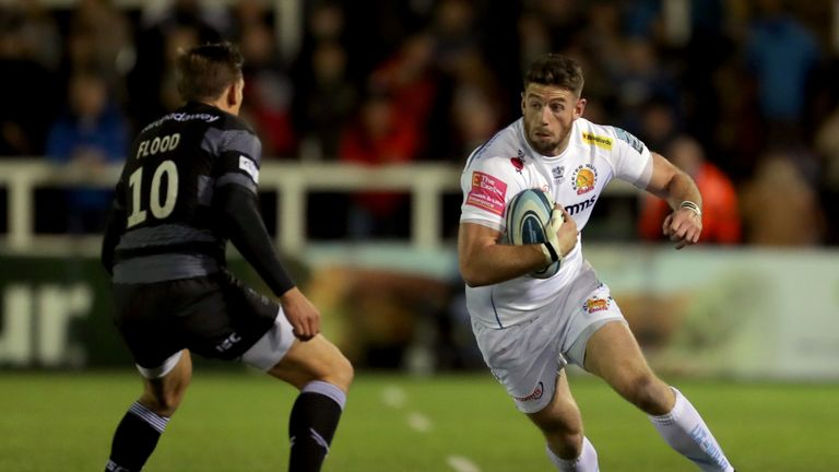 Exeter Chiefs' only defeat in the Premiership since February was in last season's final