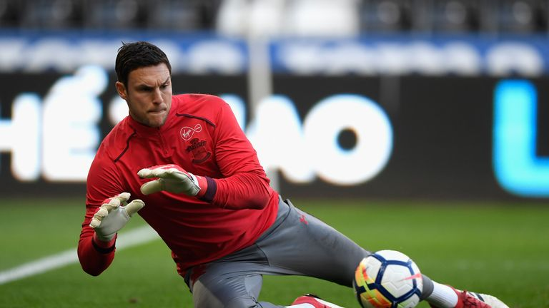Alex McCarthy is targeting his first England cap