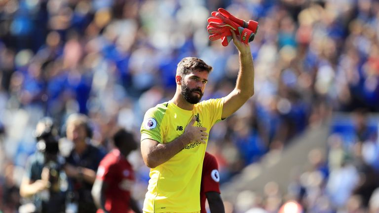 Alisson has enjoyed an impressive start to his Liverpool career