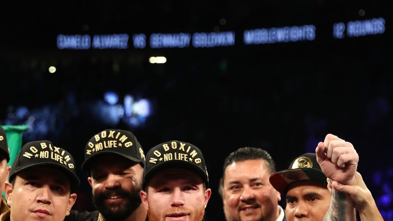 Saul 'Canelo' Alvarez defeated Gennady Golovkin on a majority decision in Las Vegas