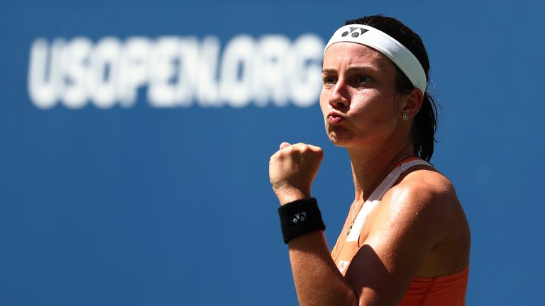 Sevastova recorded the biggest win of her career as she reached the semi-finals of the US Open