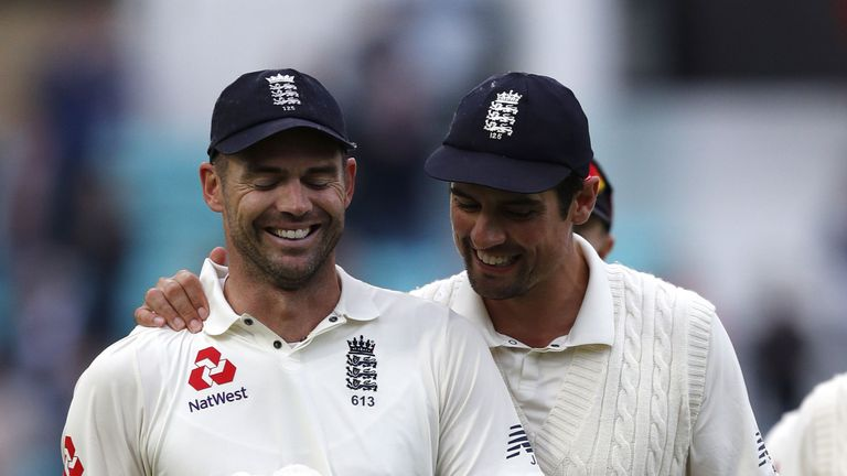Anderson and Cook dazzled on the fifth and final day at The Oval