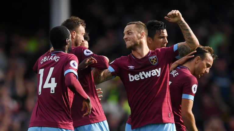 Marko Arnautovic helped West Ham to a 3-1 win