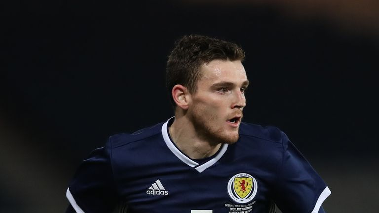 Andy Robertson has been named Scotland captain