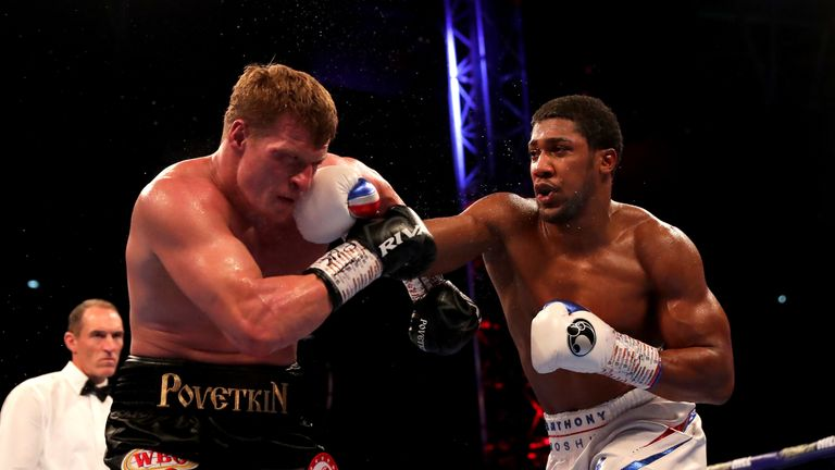 Povetkin has not fought since stoppage loss to Anthony Joshua