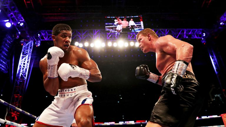 Alexander Povetkin is ready to return after world title defeat by Anthony Joshua