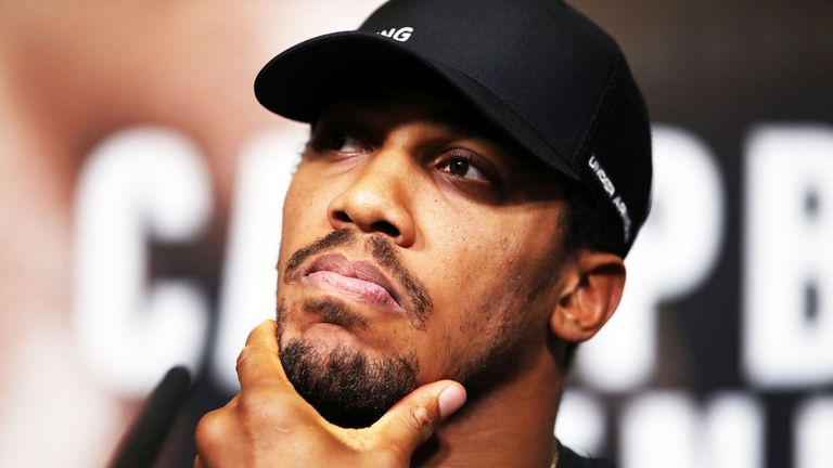 Johnny Nelson says Anthony Joshua does not need to respond to all of his rivals