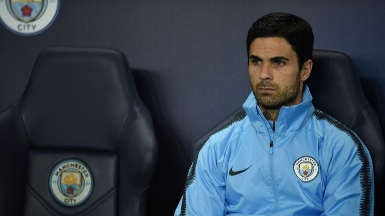 This is Arteta's first role as a coach, after retiring in 2016