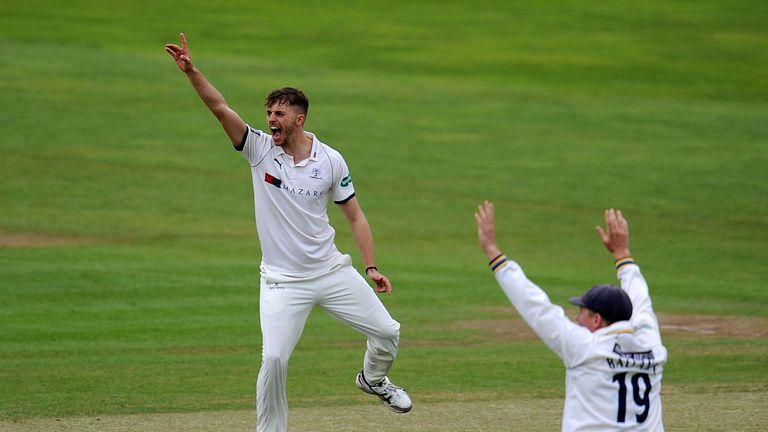 Ben Coad has picked up two five-wicket hauls for Yorkshire in Division One this season
