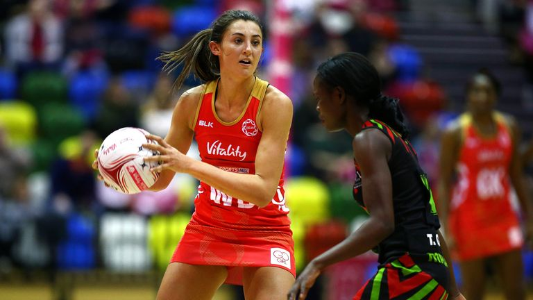 Beth Cobden has been out of action after suffering an anterior cruciate ligament injury