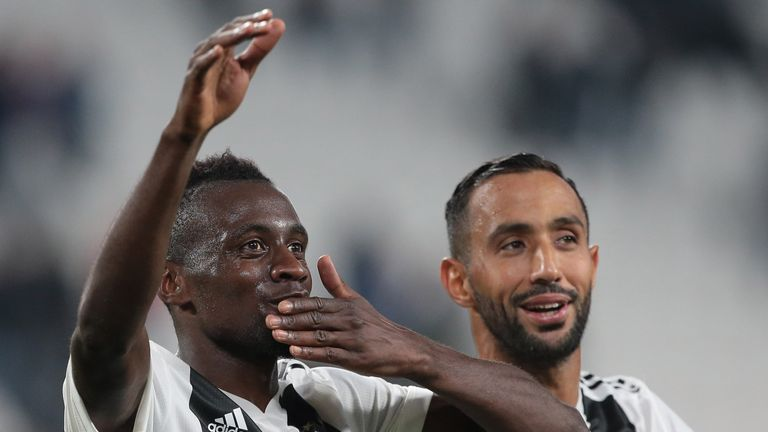 Blaise Matuidi scored in Juventus' win over Bologna