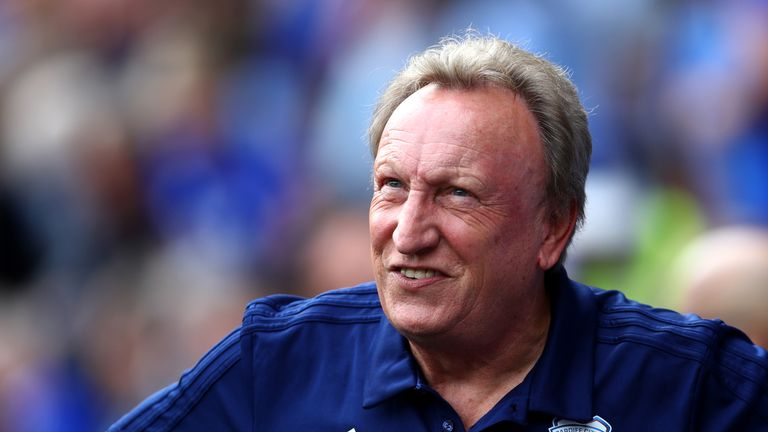 Neil Warnock looked at the positives after Cardiff's defeat by Arsenal