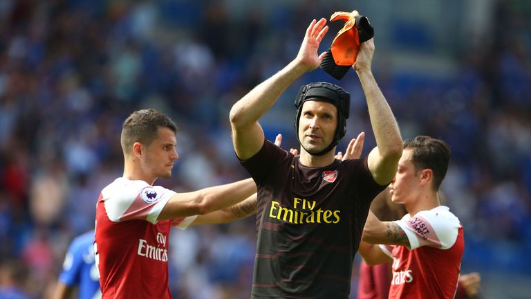 Petr Cech's performances have been scrutinised this season