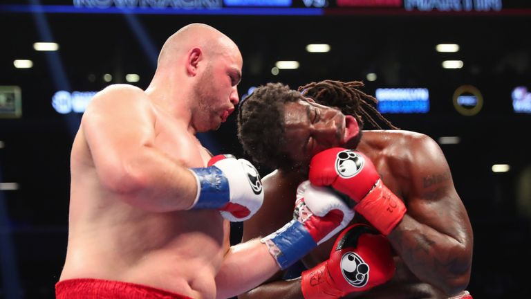 Charles Martin suffered his second professional defeat