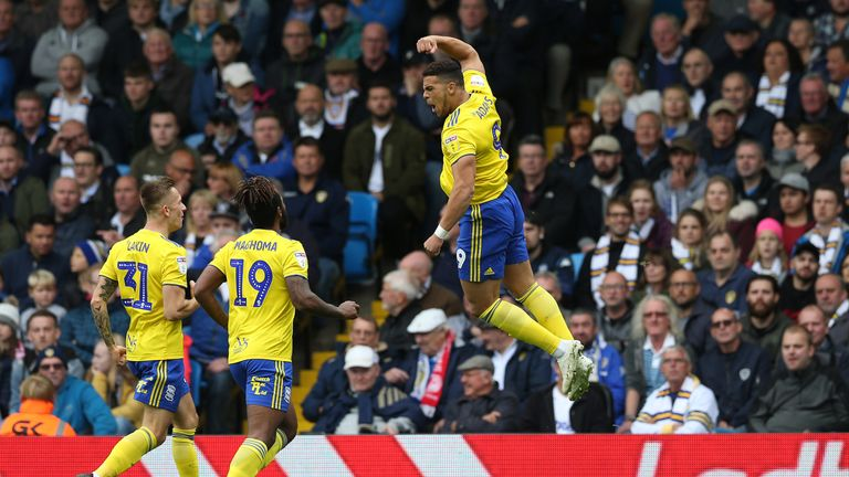 Che Adams celebrates scoring for Birmingham