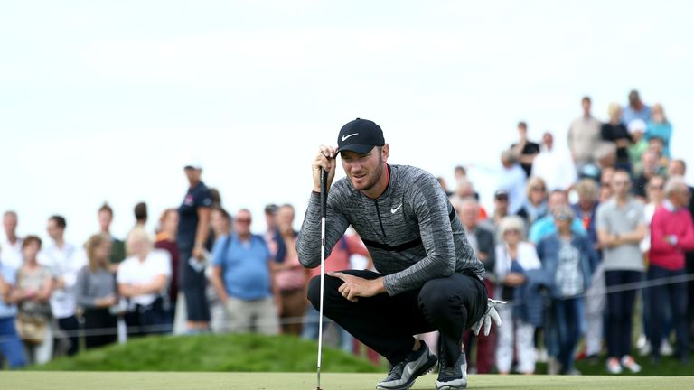 Wood was in contention for a fourth European Tour victory