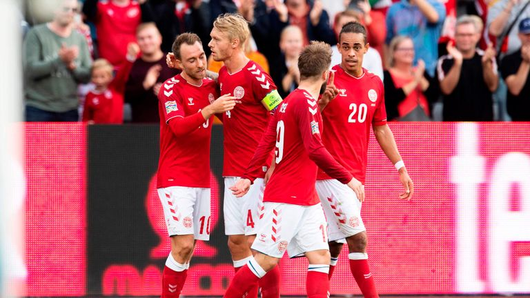Eriksen has scored in 15 of his last 18 Denmark appearances