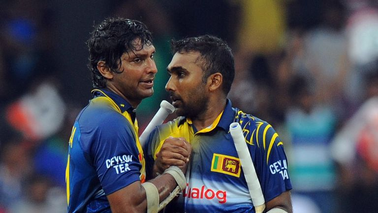 Kumar Sangakkara enjoyed a rich vein of form with the bat against England in the 2014 series