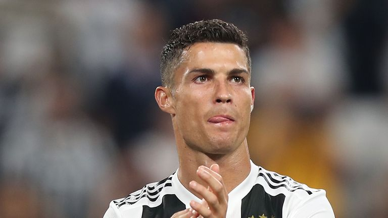 Cristiano Ronaldo had a hand in all three Juventus goals