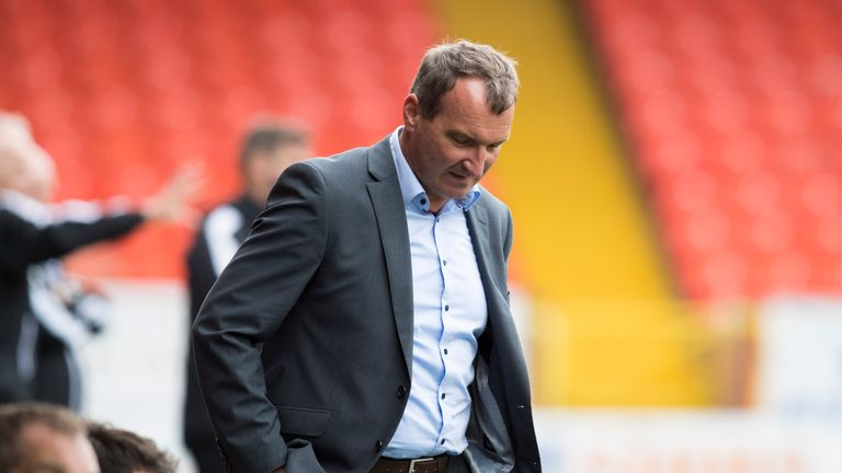 Csaba Laszlo has left Dundee United