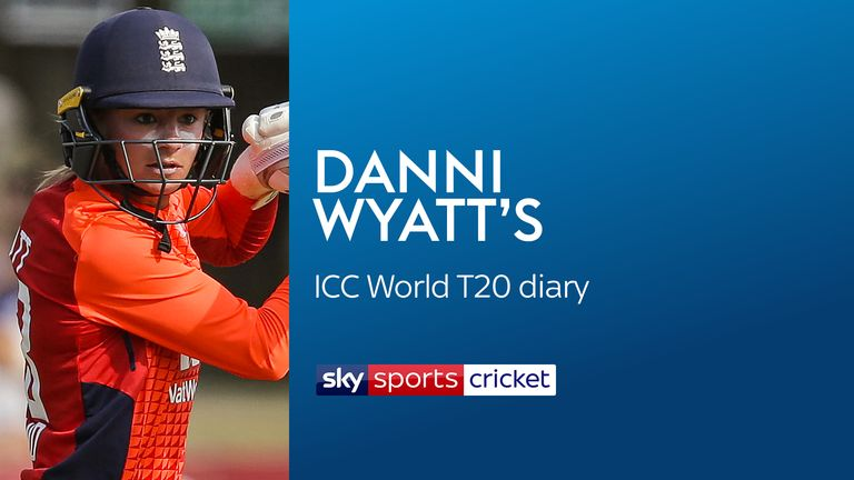 Danni Wyatt blog: England Women ready for ICC World Twenty20 charge - and so is teddy after scare!