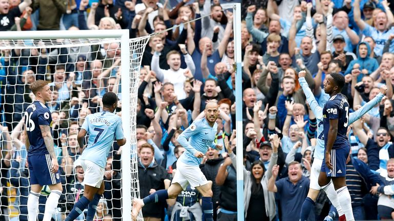 Manchester City's David Silva has continued to impress Carragher this season