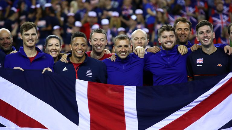 Britain seeded in revamped Davis Cup after Uzbekistan win