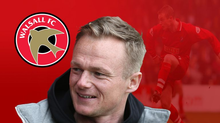 Former Walsall player Dean Keates is now impressing as the club's manager