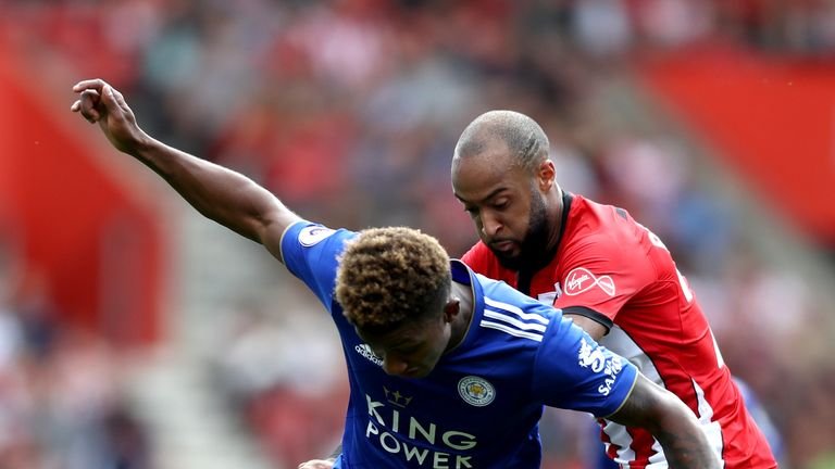 Former graduates Demarai Gray and Nathan Redmond facing each other