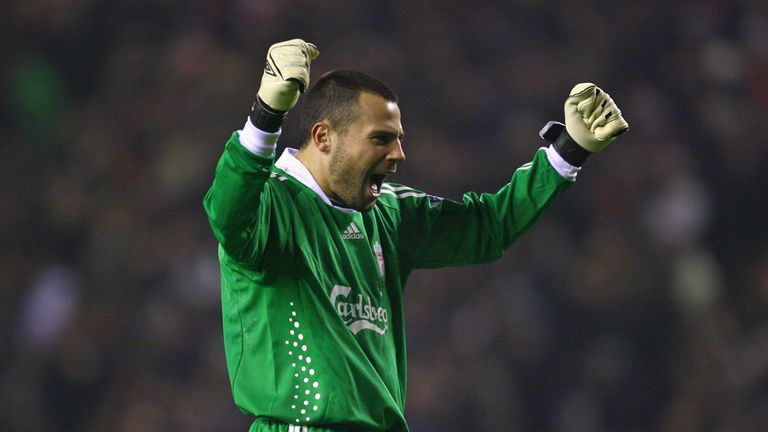 Brazilian goalkeeper Diego Cavalieri played for Liverpool long before Alisson