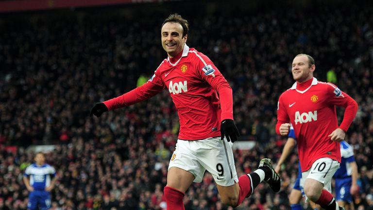 Dimitar Berbatov won two Premier League titles at Old Trafford