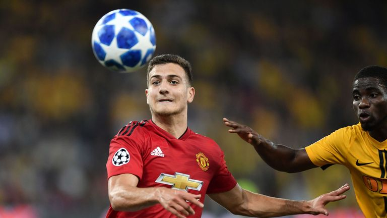 Diogo Dalot impressed on his Man Utd debut in Bern
