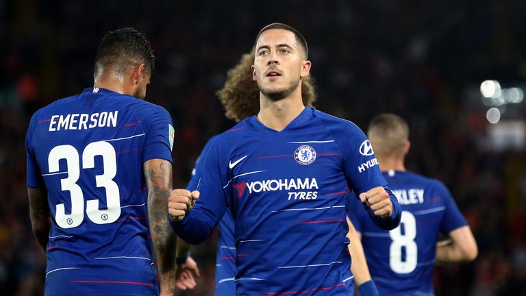 Magnificent Hazard ends Liverpool's 100 per cent start