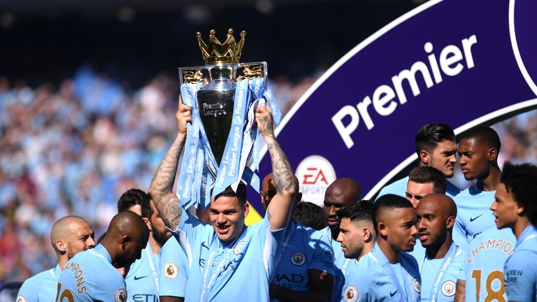 Charlie Nicholas picked City as his best side from 2018