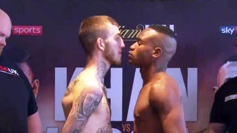 Sam Eggington will face Hassan Mwakinyo