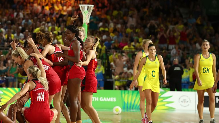 England beat Australia to win Commonwealth gold the last time they met... on Wednesday, they meet again in the Quad Series