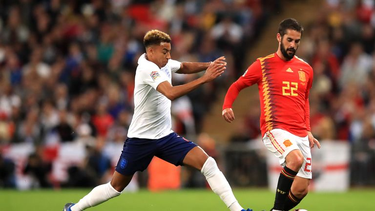 England lost 2-1 to Spain in the UEFA Nations League on Saturday