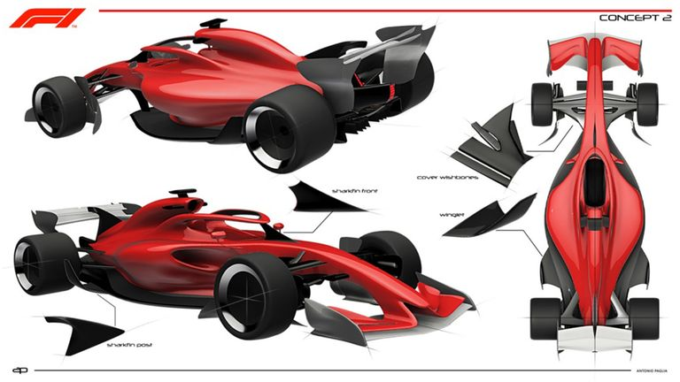 F1 Reveals 2021 Concept Cars With Aim To Improve Racing