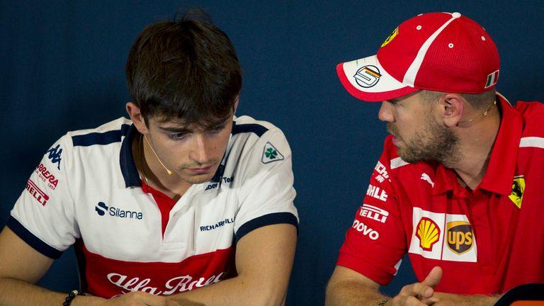 Charles Leclerc will partner Sebastian Vettel at Ferrari next season