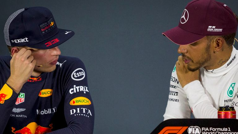Max Verstappen Says He Did Not Attempt To Overtake Lewis Hamilton When The Race Leader Was Held Up By Backmarkers At The Singapore Gp Because It Wouldnt