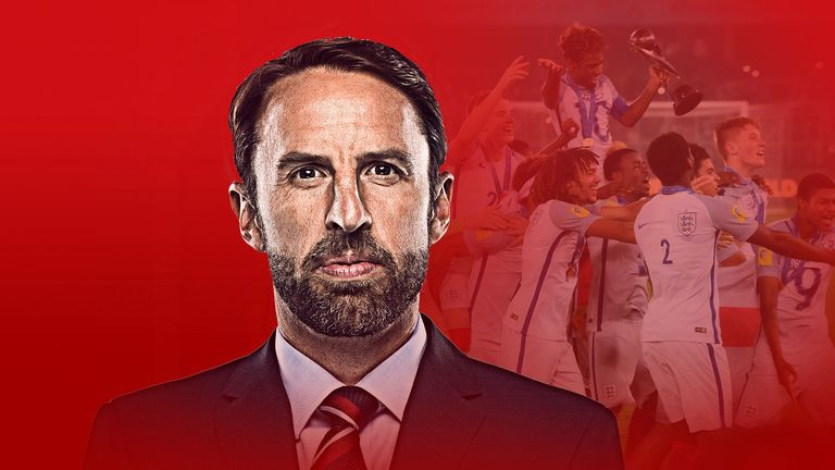 Gareth Southgate has led the way in empowering young players