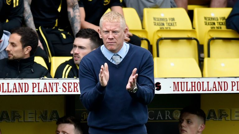 Gary Holt has taken Livingston up to 10th place