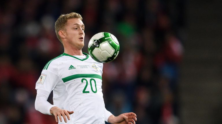 George Saville has five caps for Northern Ireland