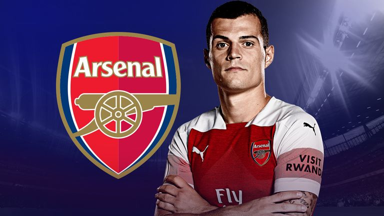 Granit Xhaka faces England with Switzerland on Tuesday
