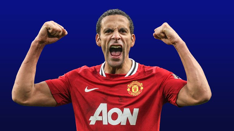 Rio Ferdinand's £29m switch from Leeds to Manchester United in 2002 would now be worth £121.7m