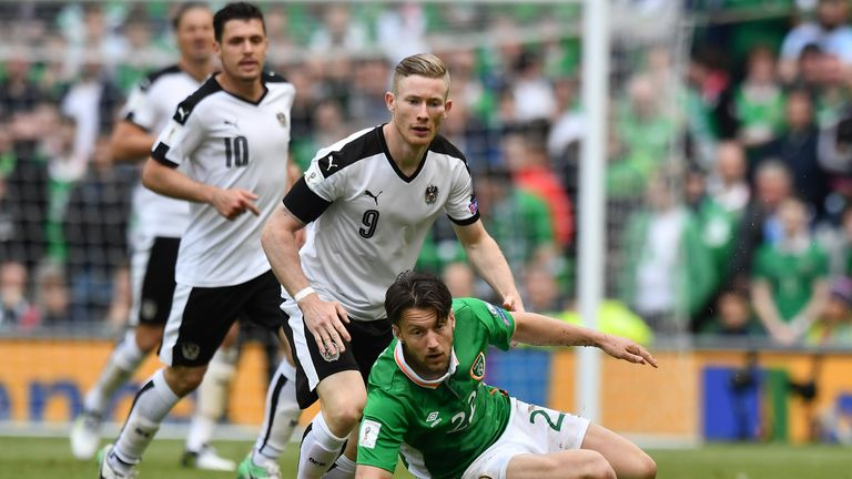 Harry Arter was left out of the Republic of Ireland squad