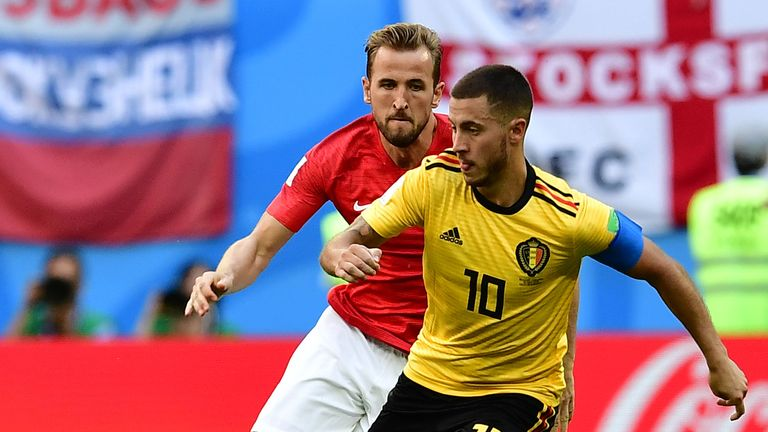 Harry Kane and Eden Hazard both had busy summers